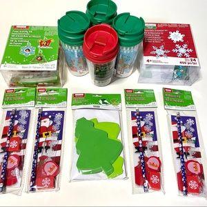 Kids Holiday Craft Kits; 11 items!  (Makes 64!)
